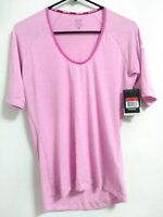Nike Pro Dri-Fit Stay Cool Womens Large Pink Short Sleeve Active Base Layer Top