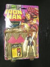 VINTAGE 1996 TOY BIZ MARVEL IRON MAN SPIDER WOMAN FIGURE MOC
