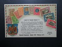 Mexico Early Stamps On Postcard / Unused - Z10444