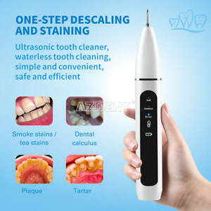 Portable Ultrasonic Tooth Cleaner Removal of Calculus Three Modes Household