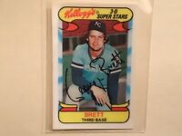 COOL 1978 KELLOGG'S 3-D #6 GEORGE BRETT NM-MINT. POPULAR ISSUE