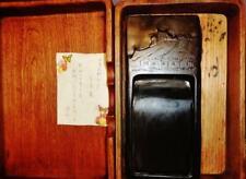 Vintage antique Japanese black ink slab engraved gilt artifacts from the Tule La