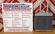 Radiatore Riscaldamento Daewoo / Chevrolet Matiz Benzina 1998 in poi. ALLUMINIO