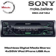 Sony DSX-A212UI - Mechless Digital Media Stereo iPod iPhone USB AUX 4 x 55 W