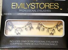 Deers And Butterfly Fashion Black Paper Lashes False Eyelashes 1 Pair