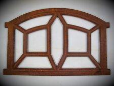 Eisen Stall Fenster Gußeisen rostig D.39 x 23cm Vintage Deko Geschenk Spiegel ?