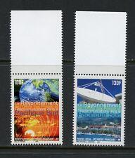 French Polynesia 2004  Earth Sun satellite telecoms  2v.  MNH  N277