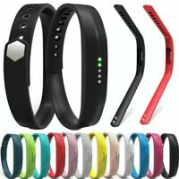 Silicone Band Wrist Sports Strap For Fitbit Flex 2 Tracker S/L Size Replacement