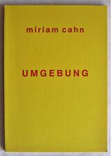 Miriam Cahn: Umgebung – Buch zur Ausstellung.