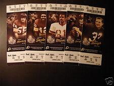 Washington Redskins 2011 NFL ticket stubs - One ticket
