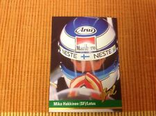 MIKA HAKKINEN 1992 GRID COLLECTOR CARD MINT CONDITION (SF) / LOTUS