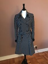 Roberto Cavalli womens Trench Coat sz 46