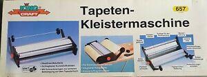Tapeziermaschine Tapeten Kleistergerät  OVP - Neu