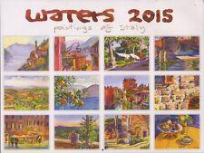 Wyatt Waters: WATERS 2015: PAINTINGS OF ITALY SIGNED SC