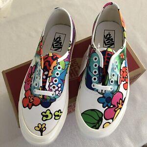 VANS DX Anaheim Factory Hoffman Skate Shoe Women's 10.5 M 9 Floral Mix Hawaiian