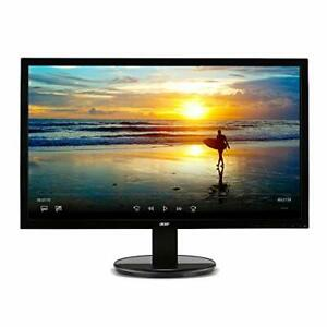 "Acer K202HQL bd 20"" 19.5"" viewable 1600 x 900 Monitor DVI & VGA Ports"