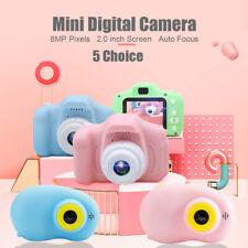 2.0'' LCD Children Mini Digital Camera 1080P HD Toys Video Camcorder Gifts E8G6
