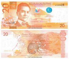Philippines 20 Piso 2010 P-206 1st Prefix Banknotes UNC