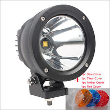 25W Led Cannon Light COB LED Driving Light 12V 2500Lm Spot light With 4pcs Cover