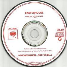 EASTERHOUSE Come Out Fighting PROMO Radio DJ CD Single 1988 USA MINT