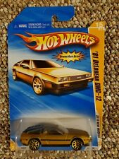 Hot Wheels '81 DeLorean Dmc-12 2010 New Models Series in Gold!