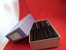 1 GROSS (144)  VINTAGE DRAWING/SKETCHING PENCILS CHARCOAL ROUND 2B DURO ART USA