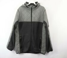 Burton Durable Goods Mens Large DryRide Full Zip Hooded Quilted Snowboard Jacket