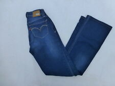 JUNIORS LEVIS BOLD CURVE LOW RISE BOOTCUT SKINNY JEANS SIZE 25x29 #W1399