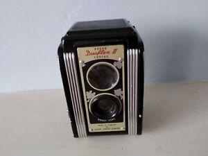 Vintage Kodak Duaflex ii Film Camera Untested. Film In Situe. Case inc.
