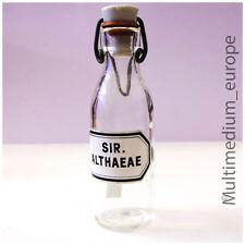Braun Antike Apothekergläser 20 ml 22.10 Mit Glasverschluss