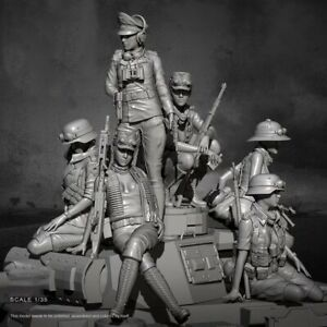 1//24 Beauty Resin Soldier Weißes Modell Resin Soldier Model M0N5