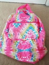 Claire's Tie-dye Girls Sports Backpack