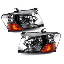 Front Head Lamps Lights Left+Right For 2000-2005 2006 Mitsubishi Pajero Montero