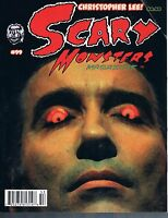 Scary Monsters Horror Movie Magazine #99 October  2015 Christopher Lee!