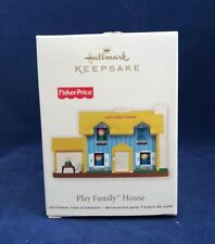 Fisher Price Play Family House 2011 Hallmark Ornament - Toys Home Yard