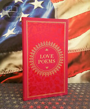 New Love Poems by Various Bonded Leather Collectible Pocket Edition