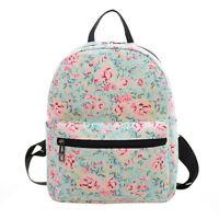 Girls Women Cartoon Backpack Mini Schoolbag Shoulder Bag Travel Satchel Rucksack