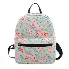 Women Girl Canvas School Backpack Shoulder Bookbag Travel Rucksack SportS Bag J