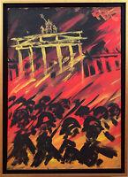 Felix Pfefferkorn *1945: Aufmarsch Brandenburger Tor Ausstellung Politik Berlin