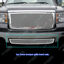 Fits 07-2013 GMC Sierra 1500/07-10 2500/3500 Bumper Stainless Steel Mesh Grille