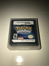 Pokemon Diamond Version Video Game w/ Case for Nintendo DS Lite TESTED