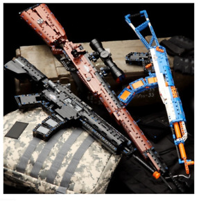 Custom Lego Military Guns Weapons Custom Lego Building Blocks KIDS