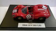 JOUEF EVOLUTION 1:43 AUTO DIE CAST FERRARI 330 P4 TARGA FLORIO ROSSO