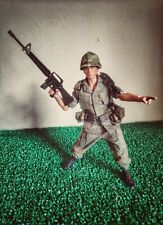 Custom soldier 1/12, usa vietnam. With extras