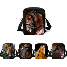 Women Cool Horse Shoulder Bag Cross Body Sling Purse Kids Messenger Handbag