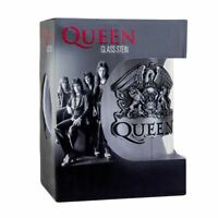 Queen Crest Glass Stein