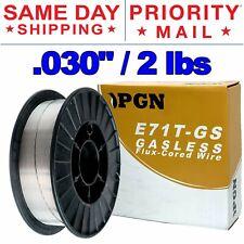 E71t Gs 030 08mm Gasless Flux Core Mild Steel Mig Welding Wire 2 Lbs Spool