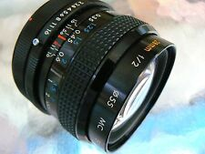 KIRON 28MM F2 MC LENS CANON FD WIDE ANGLE FITS A-1 AE-1 AE-1P T90 T70 F-1 *READ