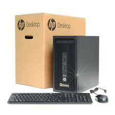 Hp Z238 Workstation PC Core I5-7500 RAM 16GB SSD 256gb Nvidia Quadro K2200 W10