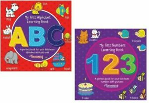 EASY HOME LEARNING CHILDREN'S MY FIRST NUMBERS ABC 123 WRITE PRACTICE BOOKS